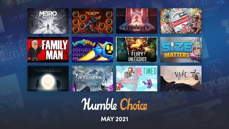 Humble Choice May games