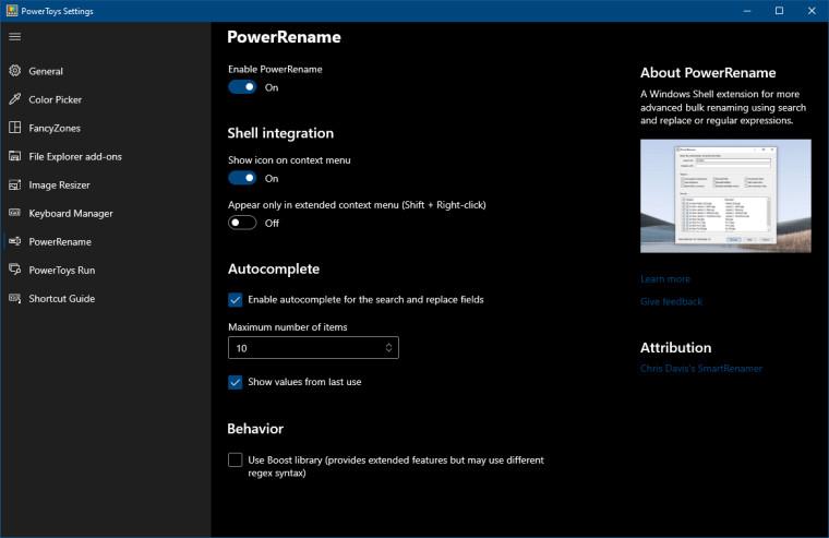 powertoys screenshot