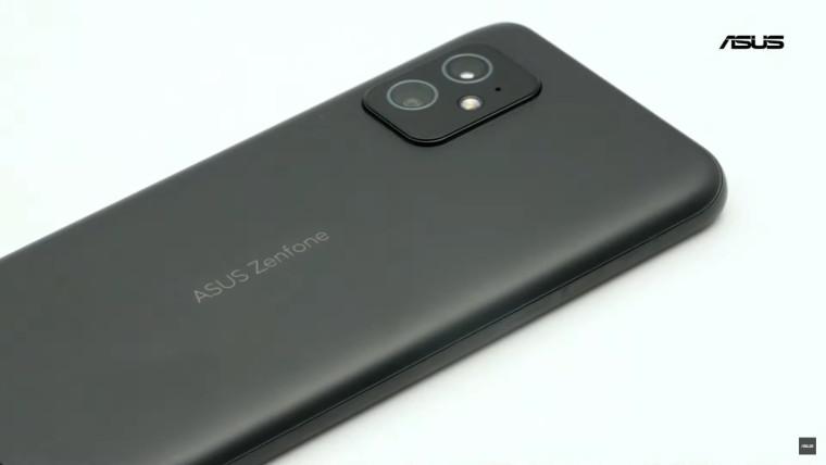 ASUS Zenfone 8 phones rear view