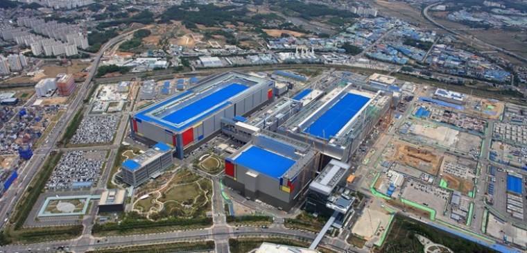 samsung production site south korea