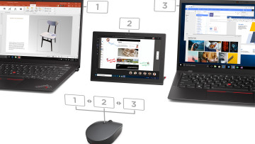 Lenovo&039s Go wireless multi-device mouse pairing with up to three devices