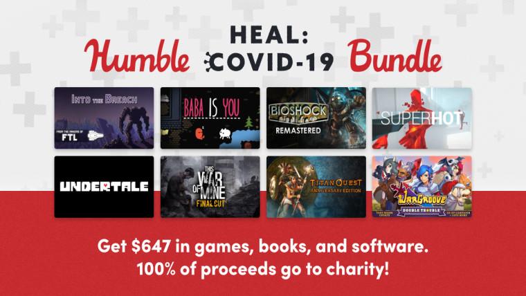Humble Heal Covid 19 Bundle highlights