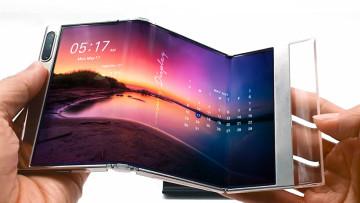 foldable samsung display