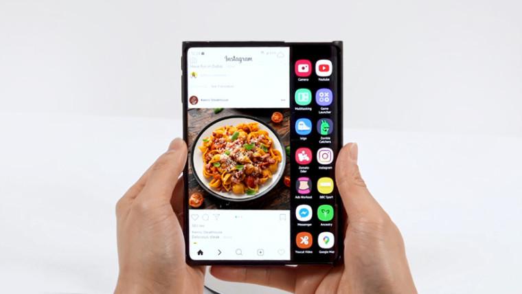 samsung foldable display