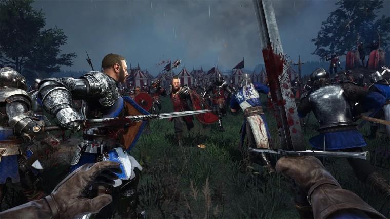 Chivalry 2 screenshots of battles