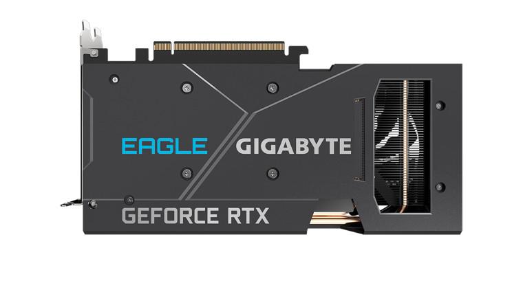 Gigabyte RTX 3060 Eagle Rev 2 backplate