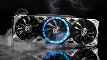 Zotac Apocalypse RTX 3060 Ti with smokes