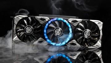 Zotac Apocalypse RTX 3060 Ti with smokes