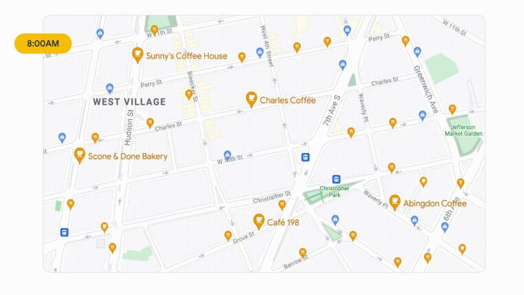 google maps 2021 update