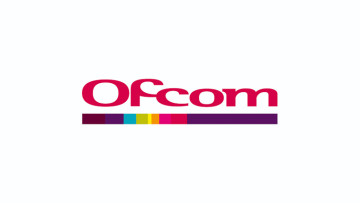 The Ofcom logo on a solid white background
