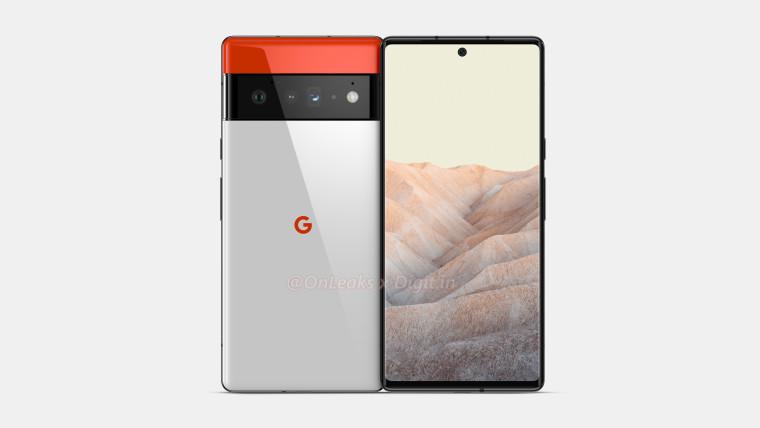 Possible Google Pixel 6 Pro renders showing off a triple camera design