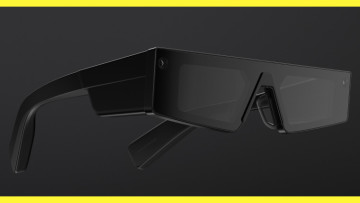The SPS 2021 Spectacles on a black and yellow background