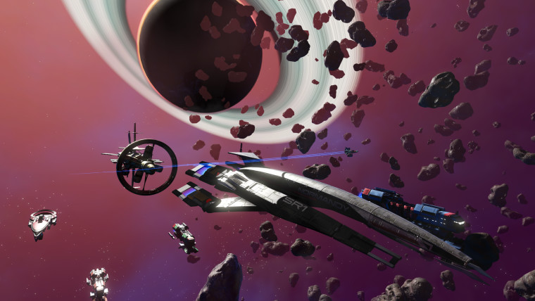 Mass Effect&039s Normandy in No Mans Sky