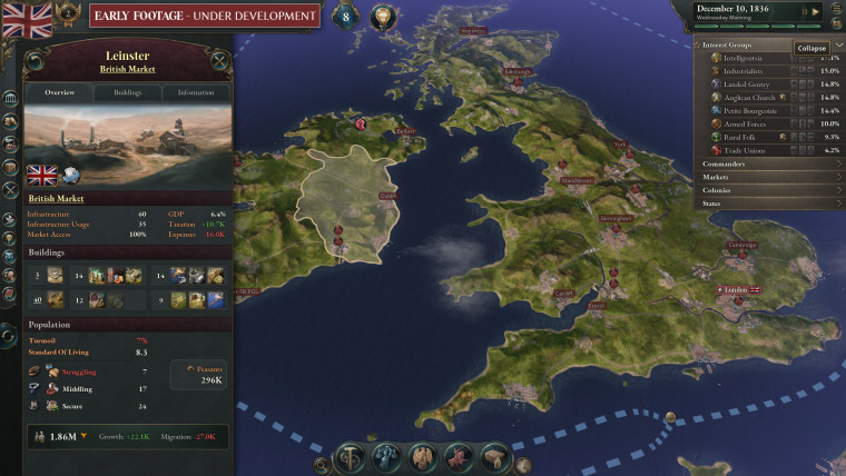 Victoria 3 screenshots