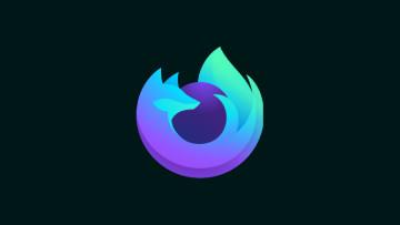The Firefox Nightly logo on a dark background