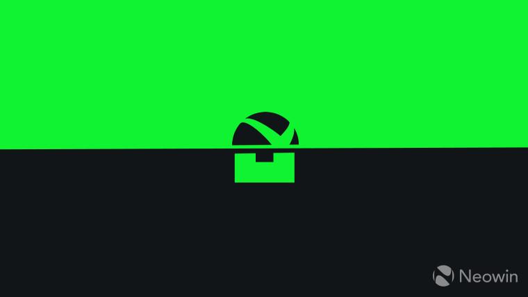 Xbox and Bethesda partial logos monochrome on dark background