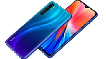 Front and back design of the Redmi Note 8 2021 edition