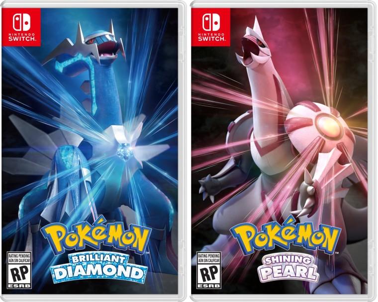 Boxart for Pokmon Brilliant Diamond and Shining Pearl