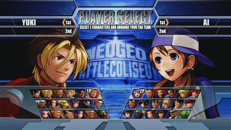 NeoGeo Battle Coliseum screenshot