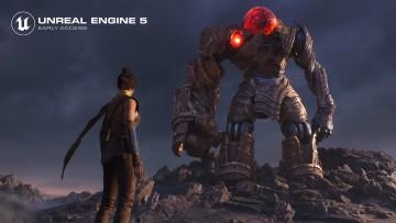 Unreal Engine 5 demo screenshot