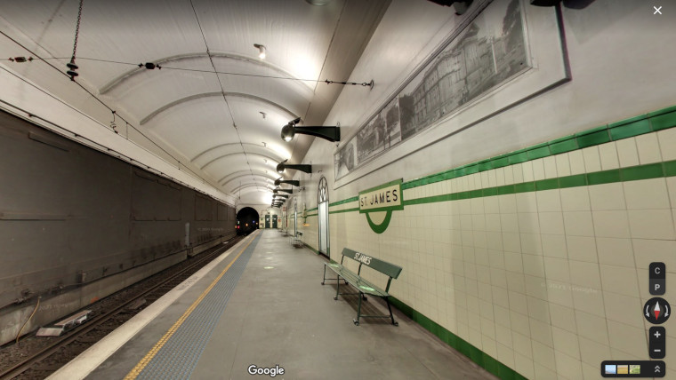 A Sydney station now viewable on Google Maps Street View