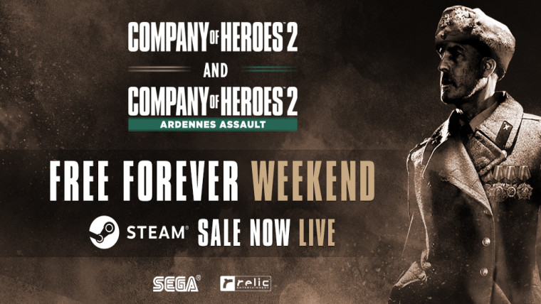 Company of Heroes 2 free forever weekend