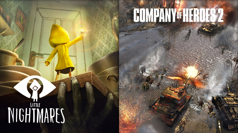 Little Nightmares and Company of Heroes 2 giveaway