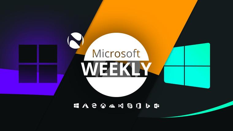 Microsoft Weekly - May 30 2021 - weekly recap