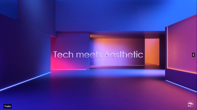 The MSI Tech meets Aesthetic event logo