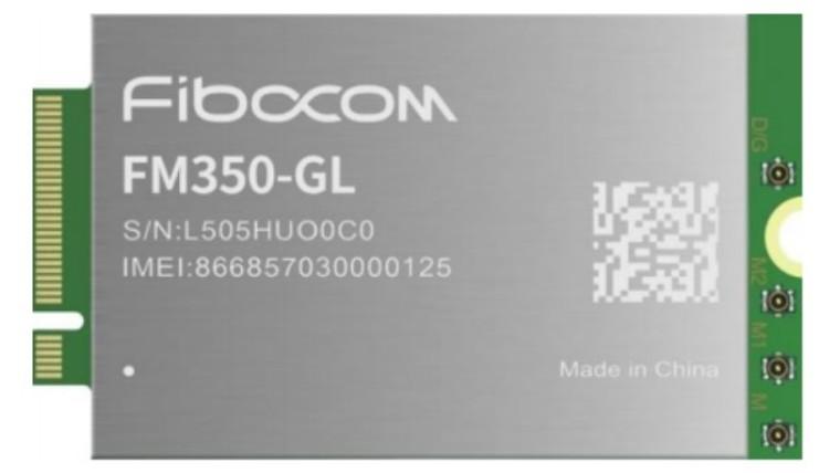 The Intel 5G Solution 5000 M2 module