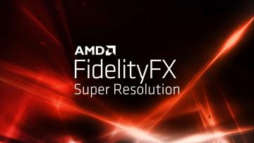 AMD FidelityFX Super Resolution logo