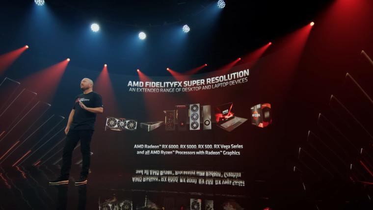 List of AMD GPUs supporting AMD FSR tech