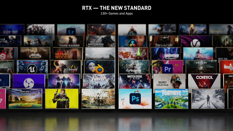 Nvidia RTX-enabled games and applications