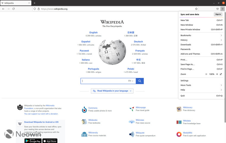The new Proton UI for Firefox