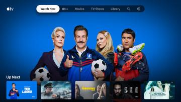 The Apple TV app running on the Nvidia Shield TV