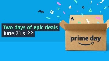 Promotional image for Amazon Prime Day from June 21 to June 22 of 2021