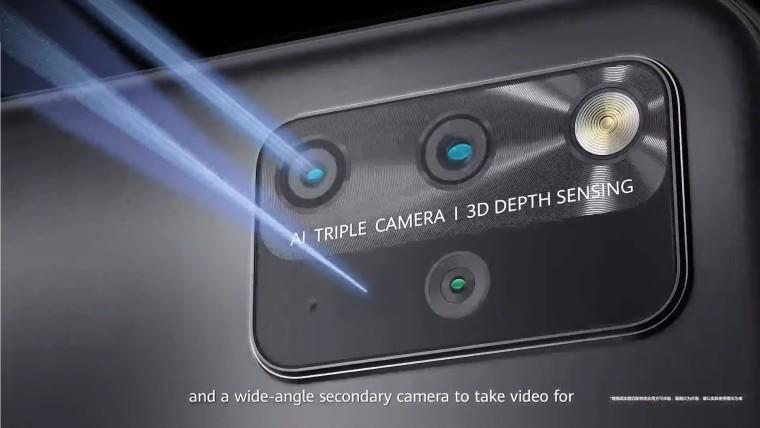 MatePad Pro camera setup