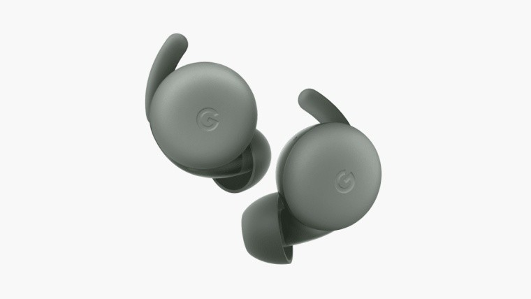 Google pixel buds series a product shot