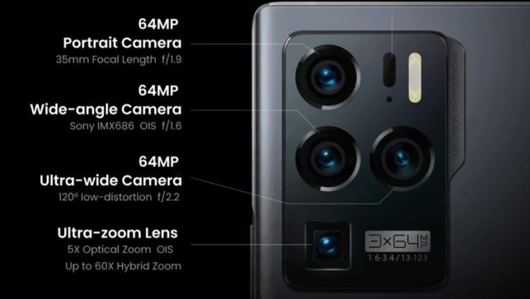 ZTE Axon 30 Ultra camera module