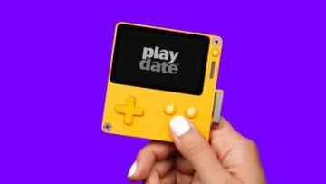 Panic Playdate handheld gaming console