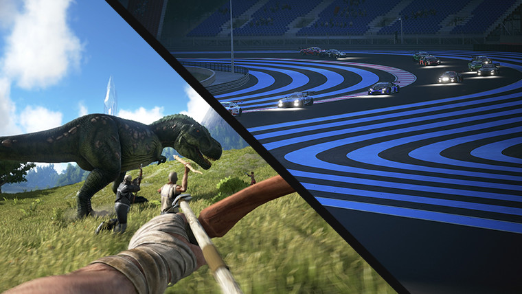 ARK Survival and Assetto Corsa Competizione Free weekend events