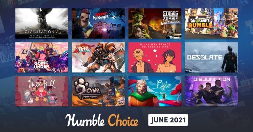 Humble Choice June games
