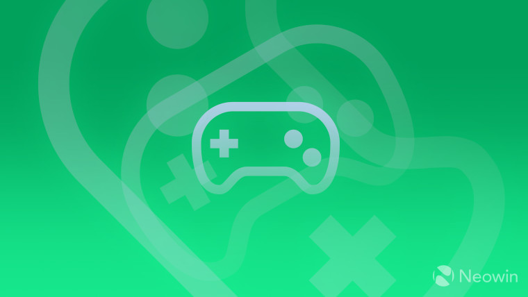 Game controller off-white on light mint green background