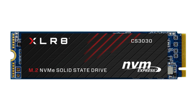 The PNY XLR8 CS3030 NVMe SSD