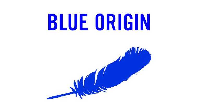 The Blue Origin logo