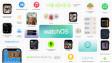 Apple WatchOS 8 feature screenshot