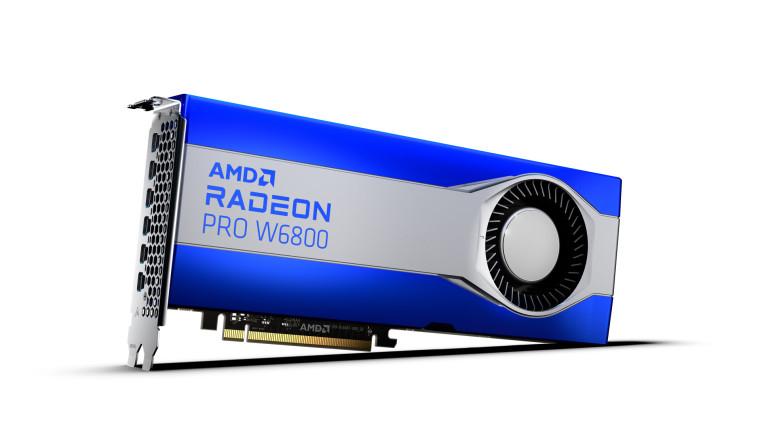 The AMD Radeon PRO W6800