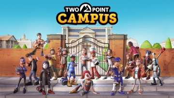 Two Point Campus art
