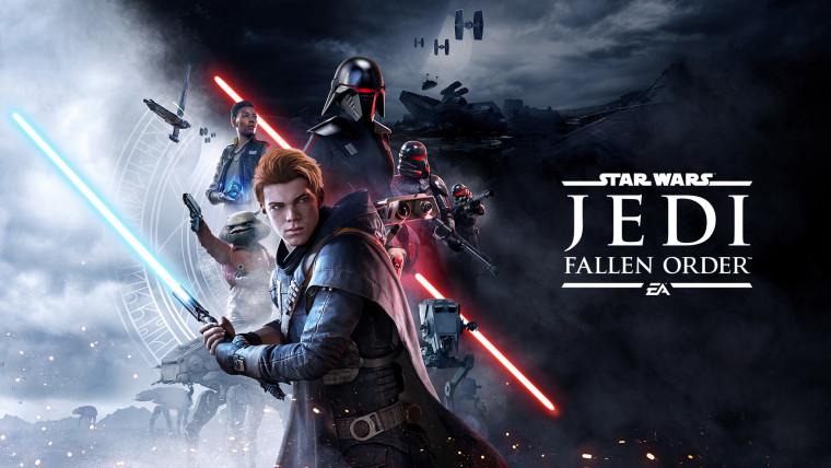 Star Wars Jedi Fallen Order key art featuring Cal Kestis