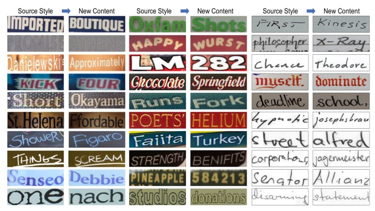 Examples of images generated by TextStyleBrush AI